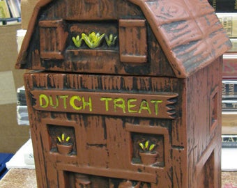 Dutch Treat Cook Jar