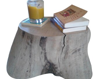Tree stump furniture, tree stump, side table, wooden stool, stump, driftwood furniture