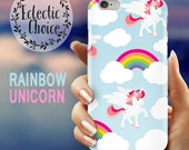 Unicorns  Rainbows iPhone 6s case iPhone 7 Plus case iPhone 6 case 5s 5c kawaii case