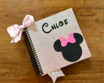 Personalized Disney Autograph and Photo Book, Character autograph books