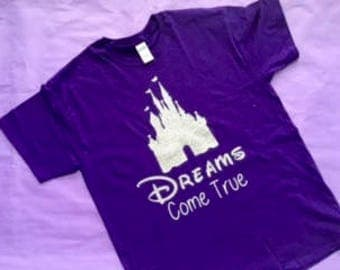 Disney Castle- Where Dreams Come True shirt