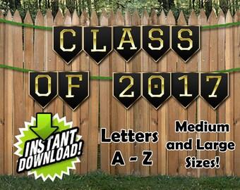 Graduation / Prom / Educational Banner Printable Download