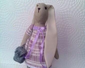 Handmade Tilda bunny  Tilda rabbit Tilda doll Handmade toy Home decor Gift for her