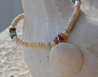 Beach Shell Bracelet, Great Gift, Perfect for Bridesmaids Gifts,