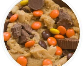 Peanut Buttah Cup Cookie Dough - 12oz. Jar of Edible Cookie Dough - Gourmet Edible Cookie Dough