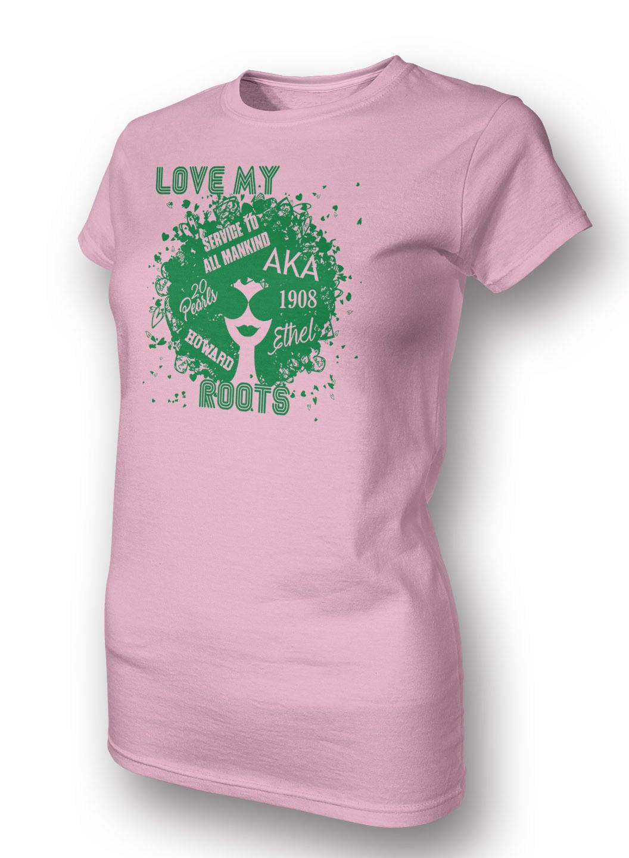 Shirt design for alumni homecoming - Love My Aka Roots Alpha Kappa Alpha Shirt Sorority T Shirt