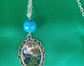 Handmade necklace with Cameo!