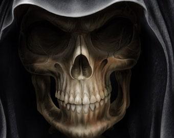 Grim Reaper Cross Stitch Chart