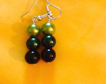 Camouflage earrings