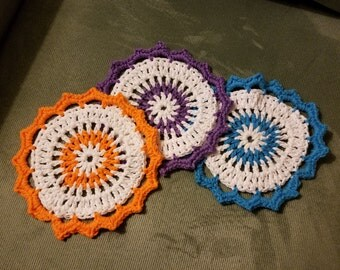 Lotus Blossom Dishcloth