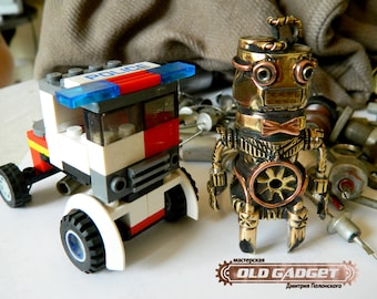 Steampunk USB flash drive 32GB 3.0