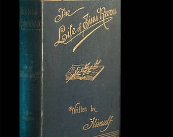 "RARE Autobiographical Book  ""The Life of Sims Reeves"" by Himself 1888"