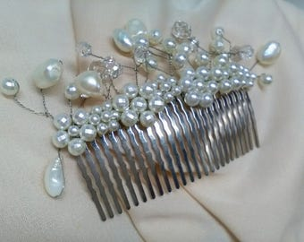 Peinecillo girlfriend. Peinecillo wedding. Peinecillo for the hair. Hair ornament. Gift for Lady. Party. Valentine's Day gift.