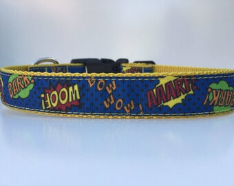 Woof, bark, wow! Dog collar.