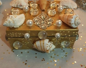 Mermaid Trinket Box