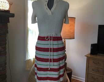 Cute1960 knit dress