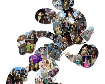 Run Disney inspired print