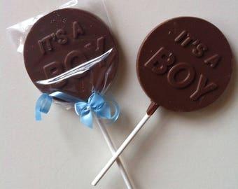 Lollipop Candy It's A Boy Baby
