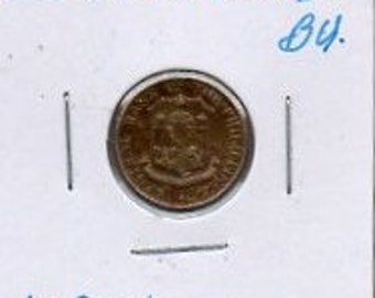 1958 Philippines 10 Centavos coin. BU. PRICED REDUCED to 2.50. Free S&H!!!
