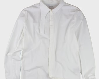 Irregular Collar Shirt