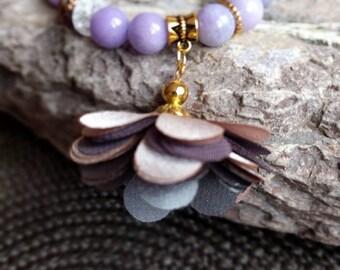 Jade bracelet, lavender sachet - gift