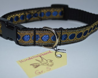 """Fit Designn """"elegant blue"""" blue gold handmade made, adjustable 20 mm"""