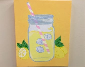 Lemonade painting