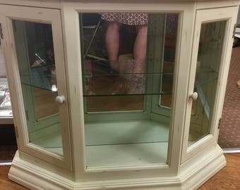 Distressed Display Cabinet