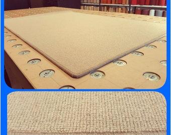 Wool hard wearing 6ft x 4ft wool rug