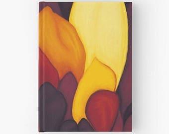 Card stock paper zentangle sketch - book petals