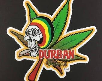 Durban Poison Sticker