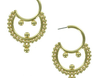 Naomi ball earrings