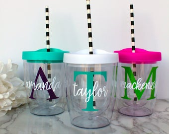 Personalized Wine Tumbler, Wine Lover Gift, Personalized Wine Cup, Gifts for Her