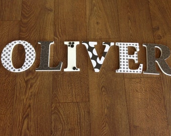 Personalized Wooden Name/ Baby Nursery Decor/ Baby Shower Gift
