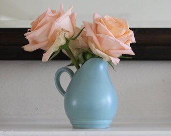 Pfaltzgraff Blue Creamer Vase