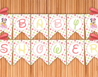 Diy minnie banner Etsy