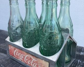 SALE: Aluminum Coke Bottle Holder
