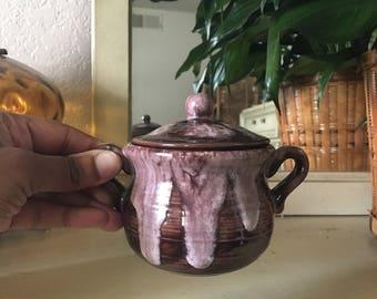 Small stoneware pot