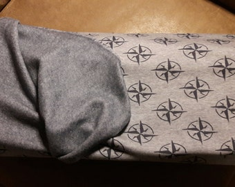 Sweat compass rose Heather grey