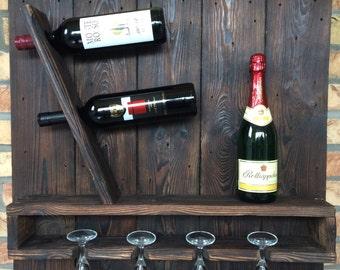 Wine rack wood