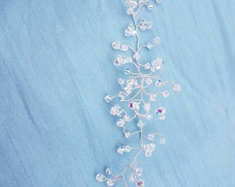 Swarovski Crystal Bridal Hair Vine
