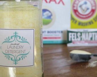 Natural Powdered Laundry Detergent