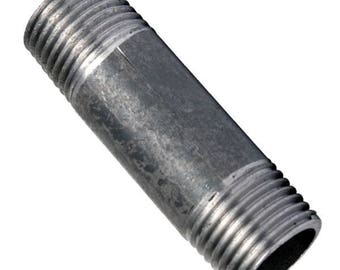 Nipple black cast iron 100MM (15/21 20/27 26/34, 33/42)