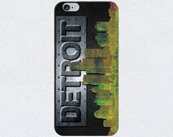 Detroit Metal iPhone Case