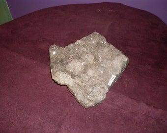 Natural Light Purple Amethyst Cluster 1.1kg