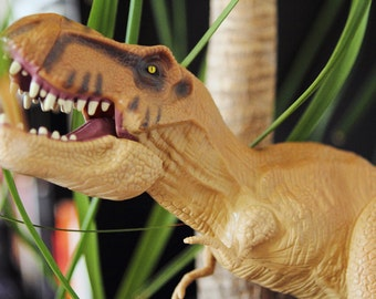Dino canvas for the nursery wall decoration T-Rex / Tyrannosaurus Rex