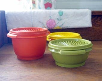 Old Timey Tupperware