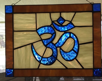 Ohm - Stained Glass Panel