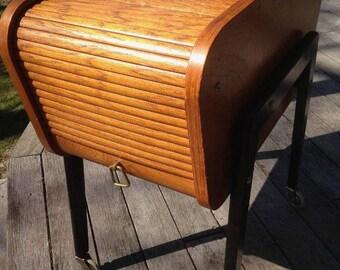 Vintage scandinavian sewing table