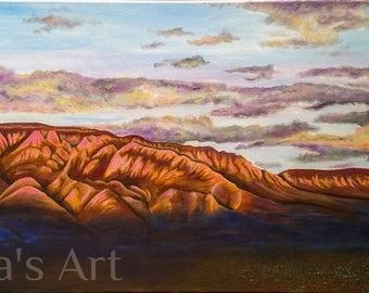 Watermelon Mountains 11x17 Print